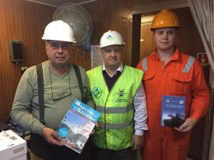 From 25th to 27th of September in port of Nakhodka, Seafarers' Union of Russia (SUR) was holding meetings with crew members of three tankers: Igrim, Immanuil and Glorystar